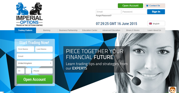 Imperial binary options