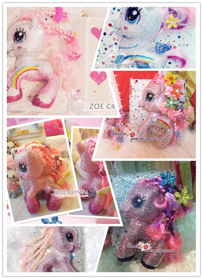 Swarovski Czech Crystal 3d My Little Pony Ipad Samsung