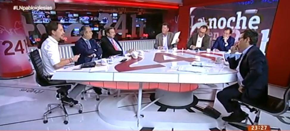 Sergio Martín, Graciano Palomo, Antonio Papell, Alfonso Rojo, Julio César Herrero, José Herás