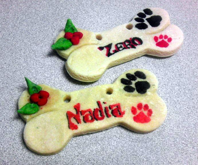 diy Christmas ornaments for Christmas gifts for dogs