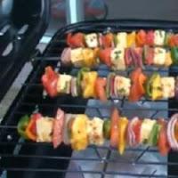 frigarui cu legume pe gratar
