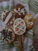 Πασχαλινά cookies pop!