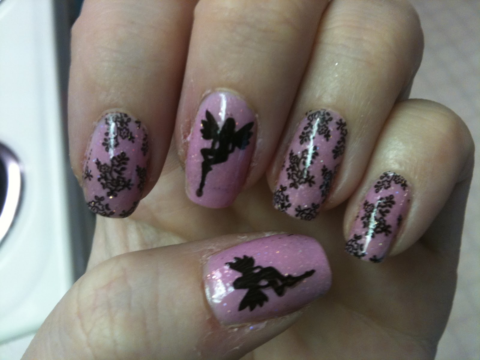 My Cup Of Tea: Fairy nails