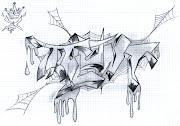 viernes, 26 de octubre de 2012 graffitis para colorear