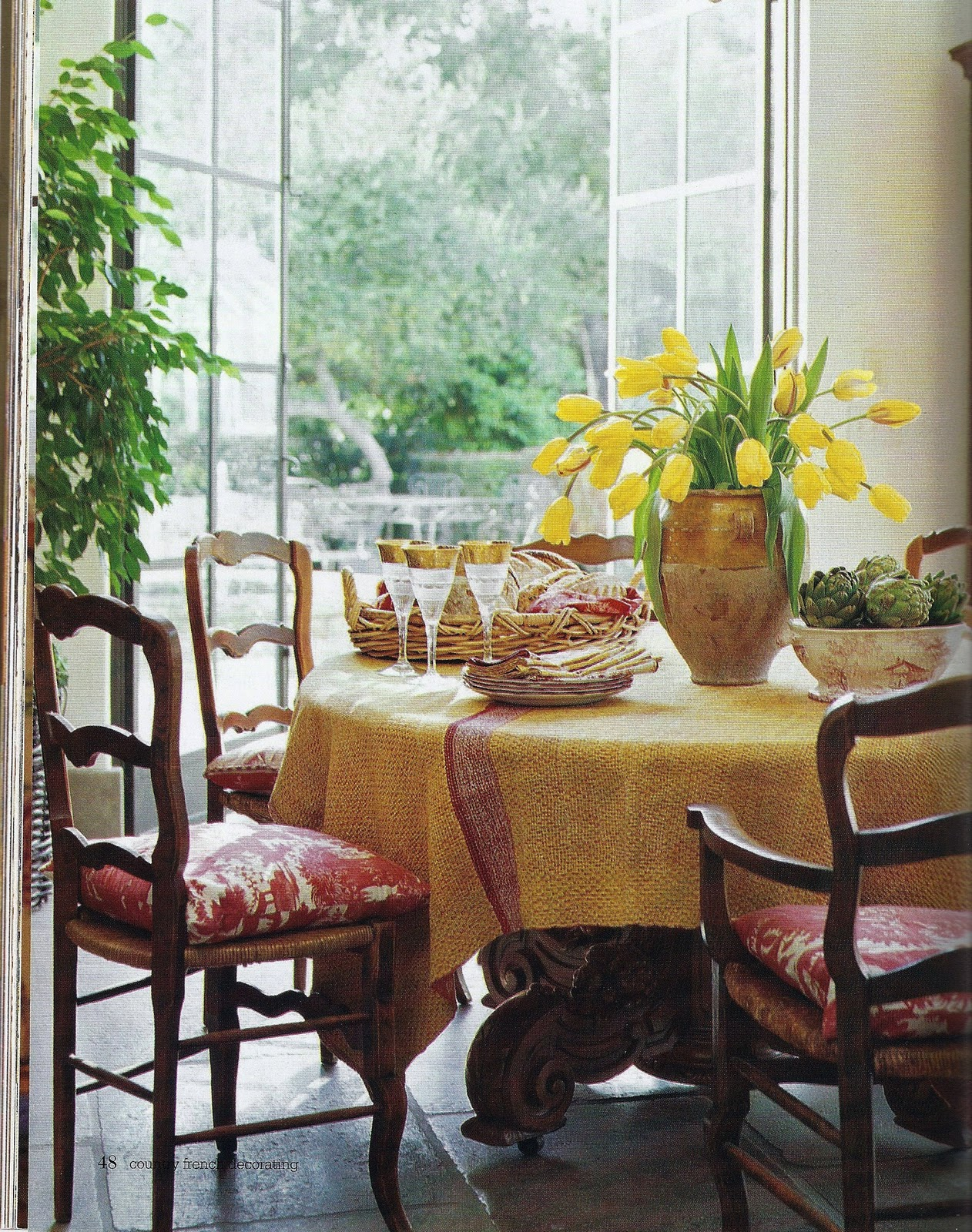 French Table Country French Decorating Magazine Spring Summer 2007