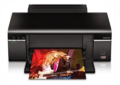 epson Artisan 50 printer reset
