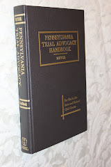 Pennsylvania Trial Advocacy Handbook (with Annual Supplement Written by Daniel E. Cummins)