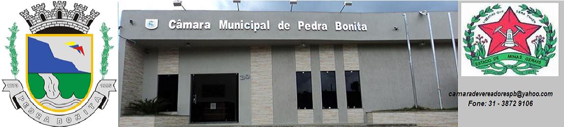 INFORMATIVO DA CÂMARA-PEDRA BONITA