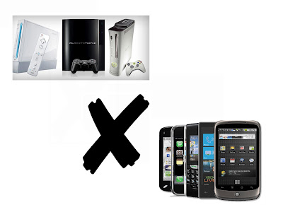 consoles x smartphones