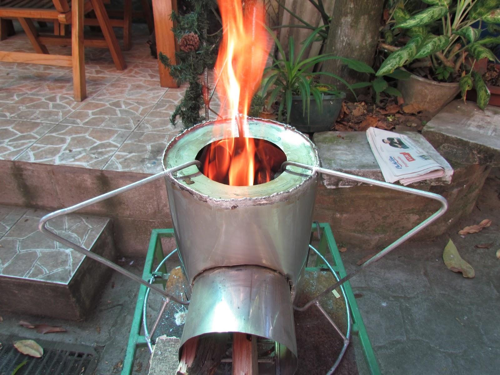Cocina ahorradora de le a cocina que ayuda a la salud al - Como hacer una cocina de lena ...