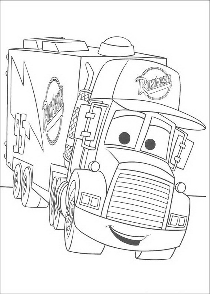 coloring pages for disney cars - photo#7