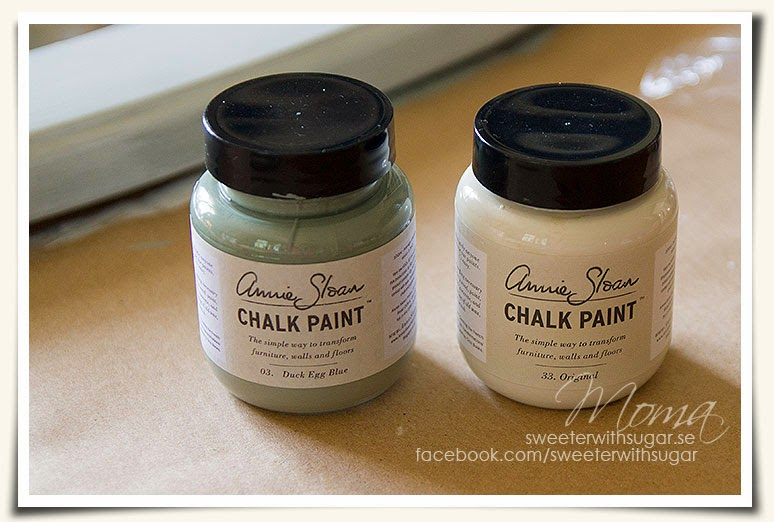 Annie Sloan chalk paint, Original , Duck Egg Blue