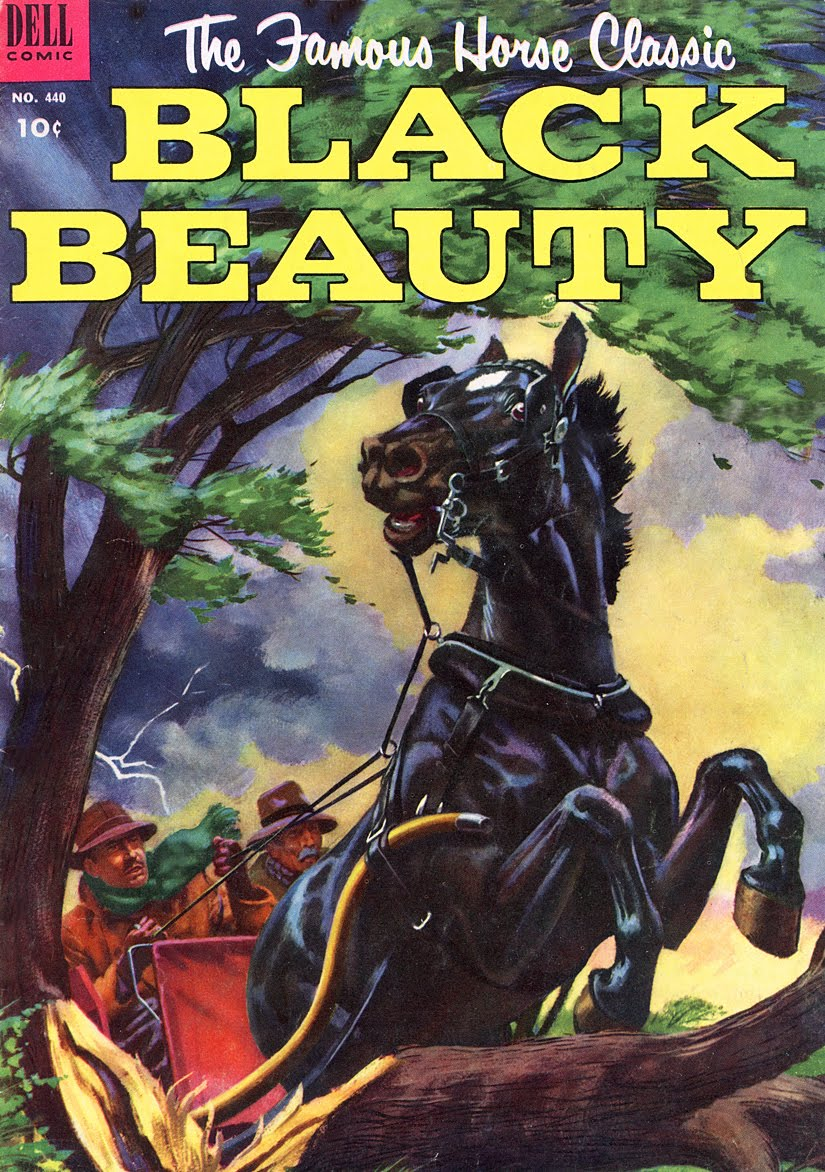 Black Beauty Book Cover : The big of kids comics morris gollub s black beauty