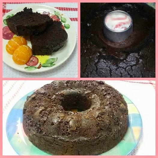 Eggless Moist Chocolate Cake Hesti