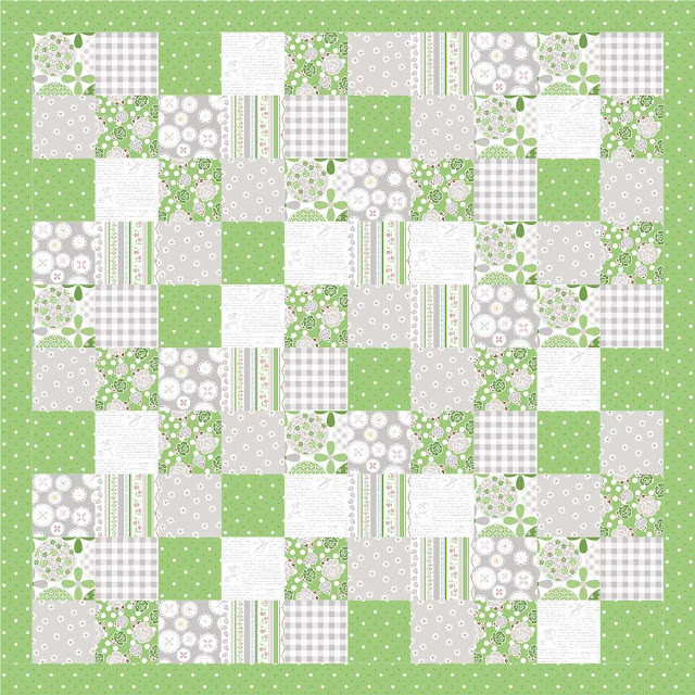 Polka Dot Stitches quilt pattern