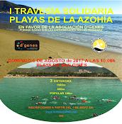 I TRAVESIA SOLIDARIA PLAYAS DE LA AZOHÍA.