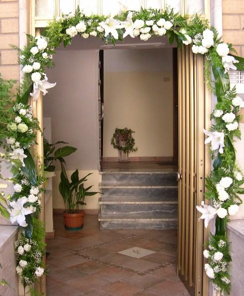 Debraflower amica degli sposi uscita della sposa - Addobbi matrimonio casa della sposa ...