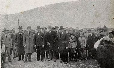 INAUGURAÇÃO MANICÔMIO JUDICIÁRIO DE BARBACENA 06 JULHO DE 1929