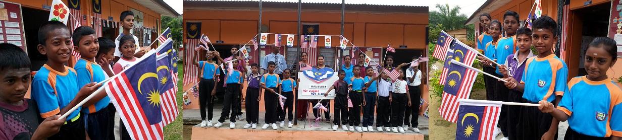 Pelancaran Sambutan Bulan Kemerdekaan Peringkat Sekolah 2015