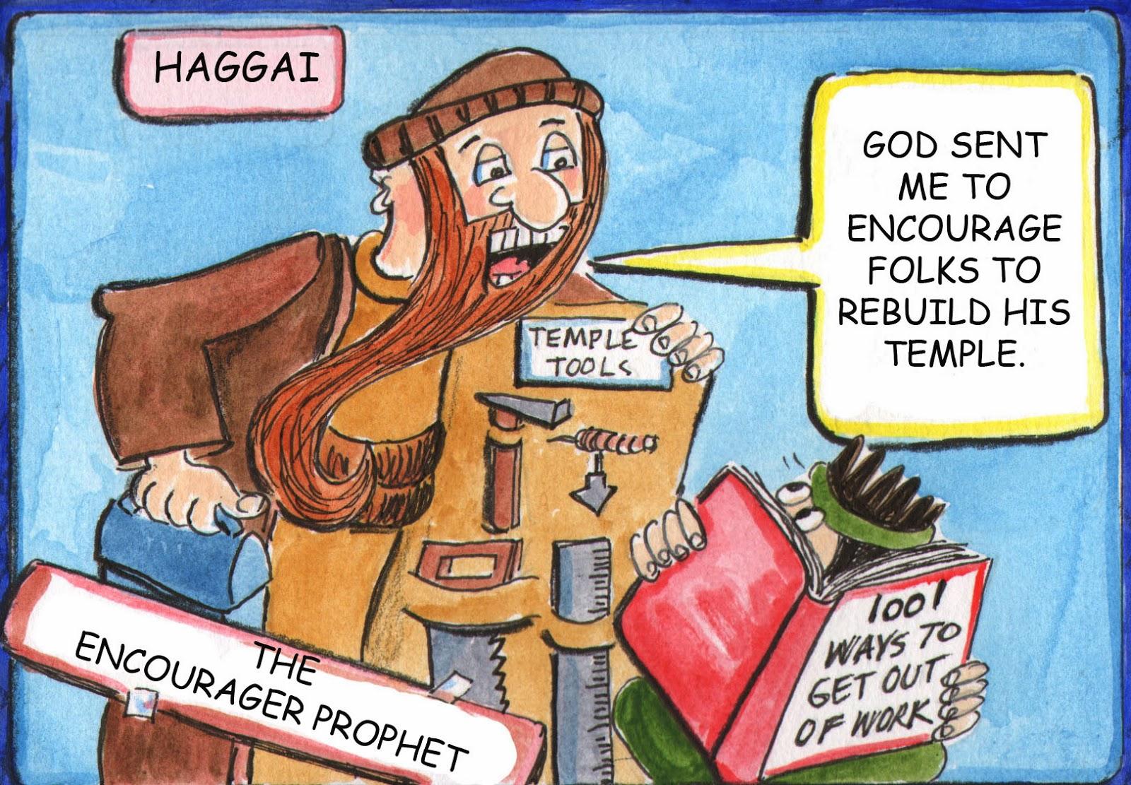 God en gebed december 2013 for Haggai coloring page