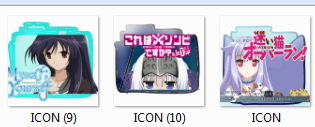 Anime Folder Pack Icon