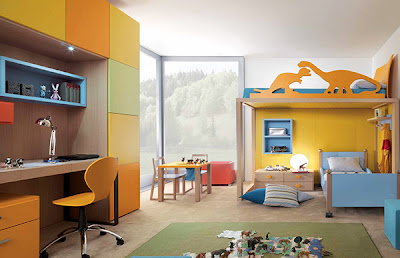 Bedroom Design Ideas for Kids With Pictures and Woodcut
