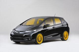 Contoh Gambar Modifikasi Elegan Mobil All New Honda Jazz Fit Terbaru