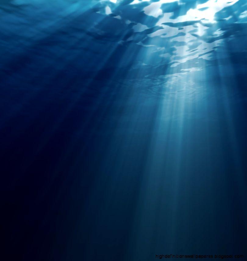 Underwater Ocean Floor Light Wallpaper Hd Desktop High Definitions