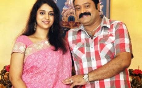 Suresh Gopi and Radhika