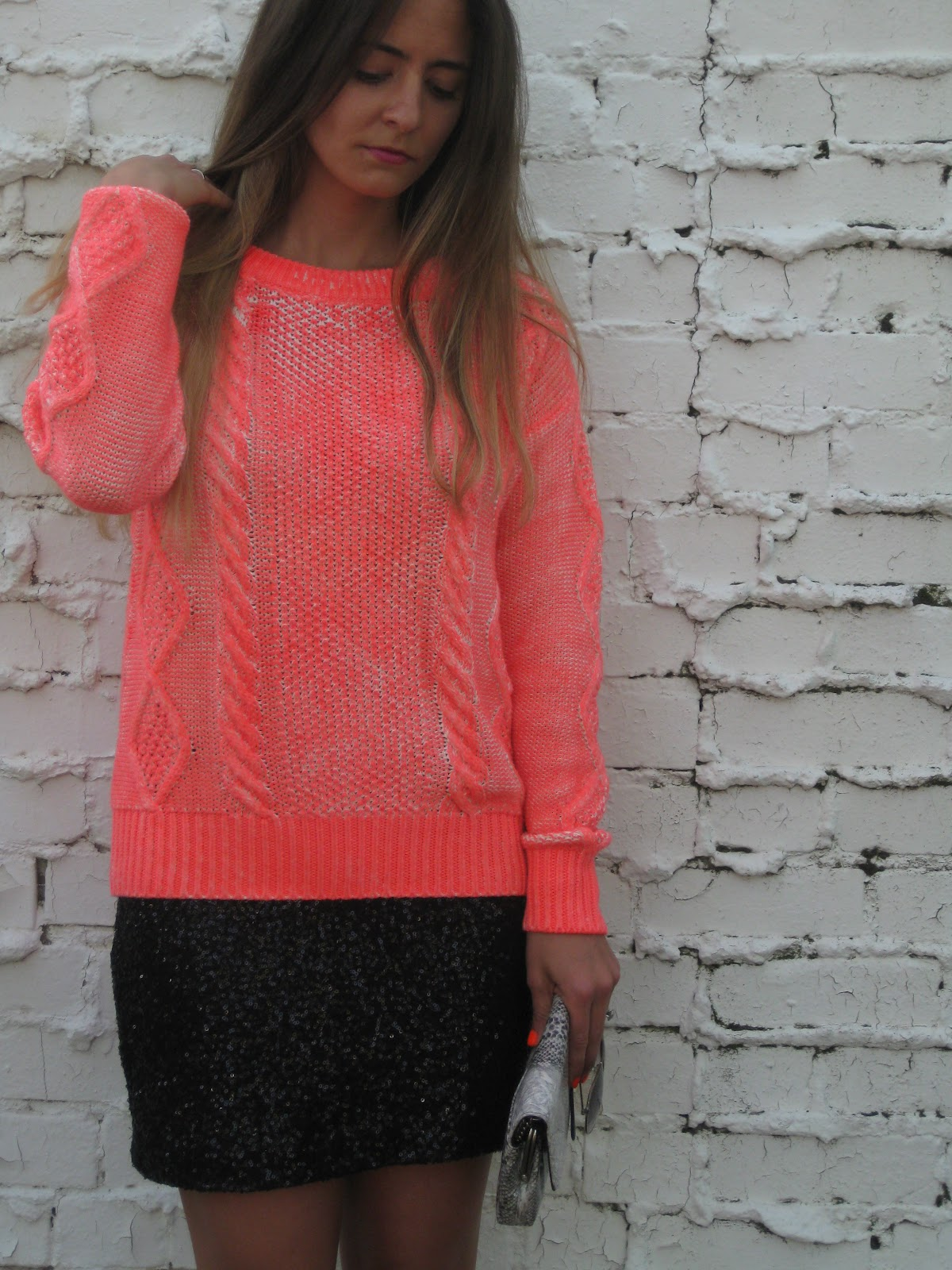Bedazzles After Dark: Outfit Post: Casual   Dressy = Neon Sparkles