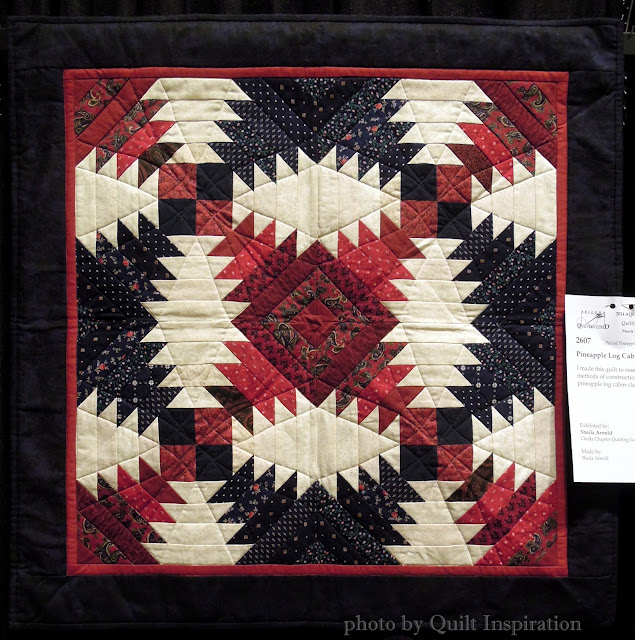 Quilt Inspiration Pineapple Delight Pineapple Log Cabin Quilts