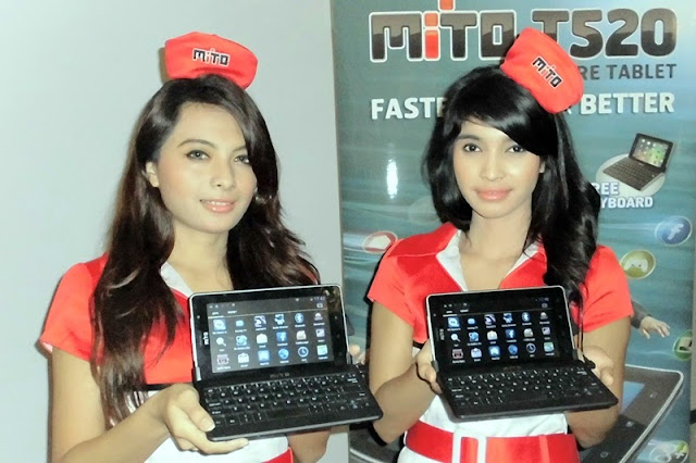 Mito T520,Tablet Murah,Keyboard Fisik,Tablet Lokal,SPG Mito,SPG HP