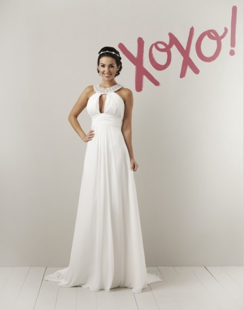 For Such A Theme Chosen You Would Require Wedding Gown Or Attire That Is More Towards Casual