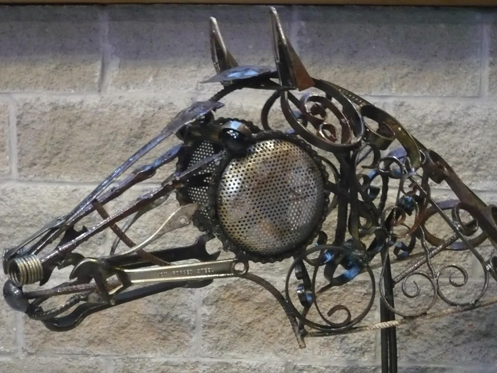 Alejandro Monaco Esculturas En Chatarra Quien Es