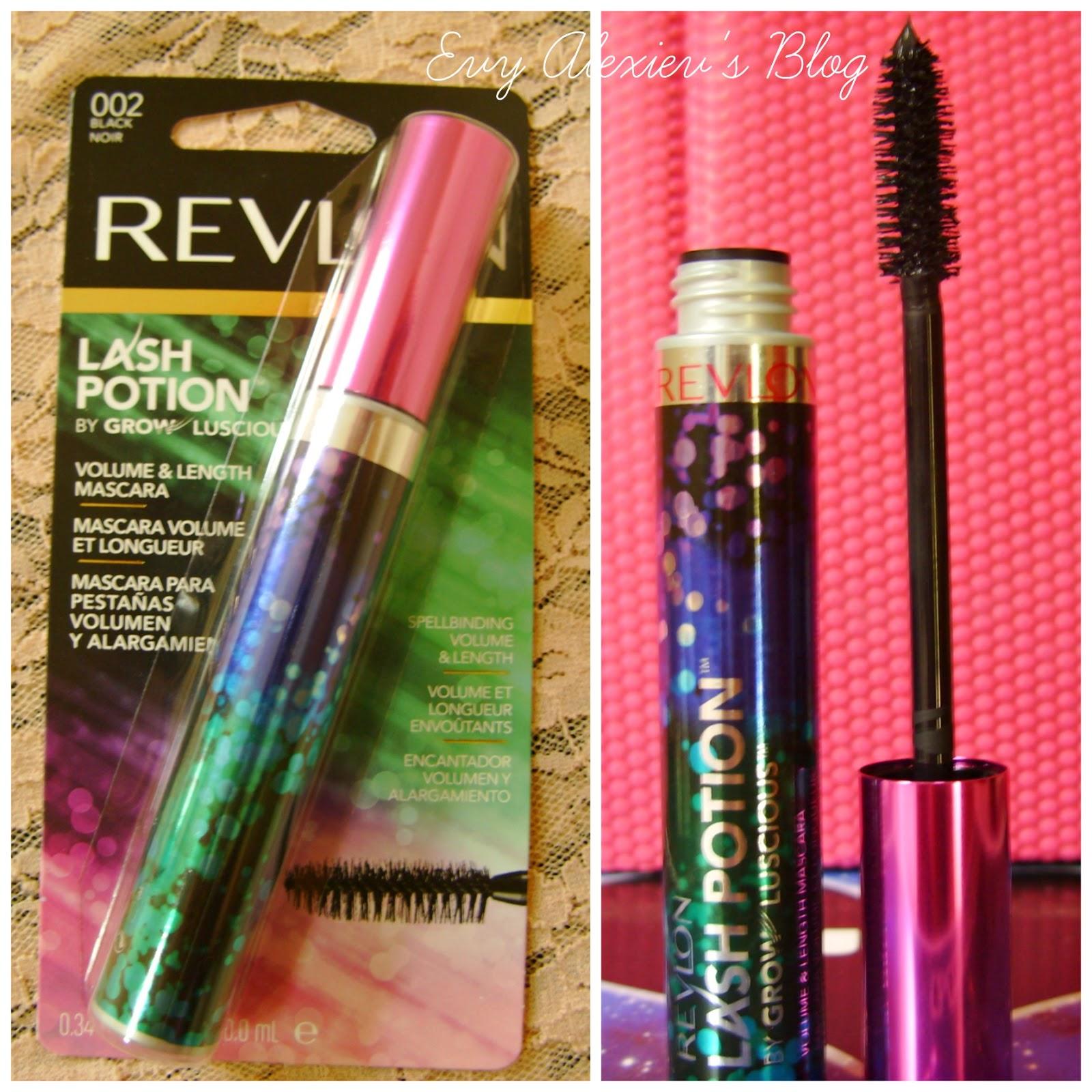 Lipstick Bouquet Revlon Lash Potion Mascara REVIEW