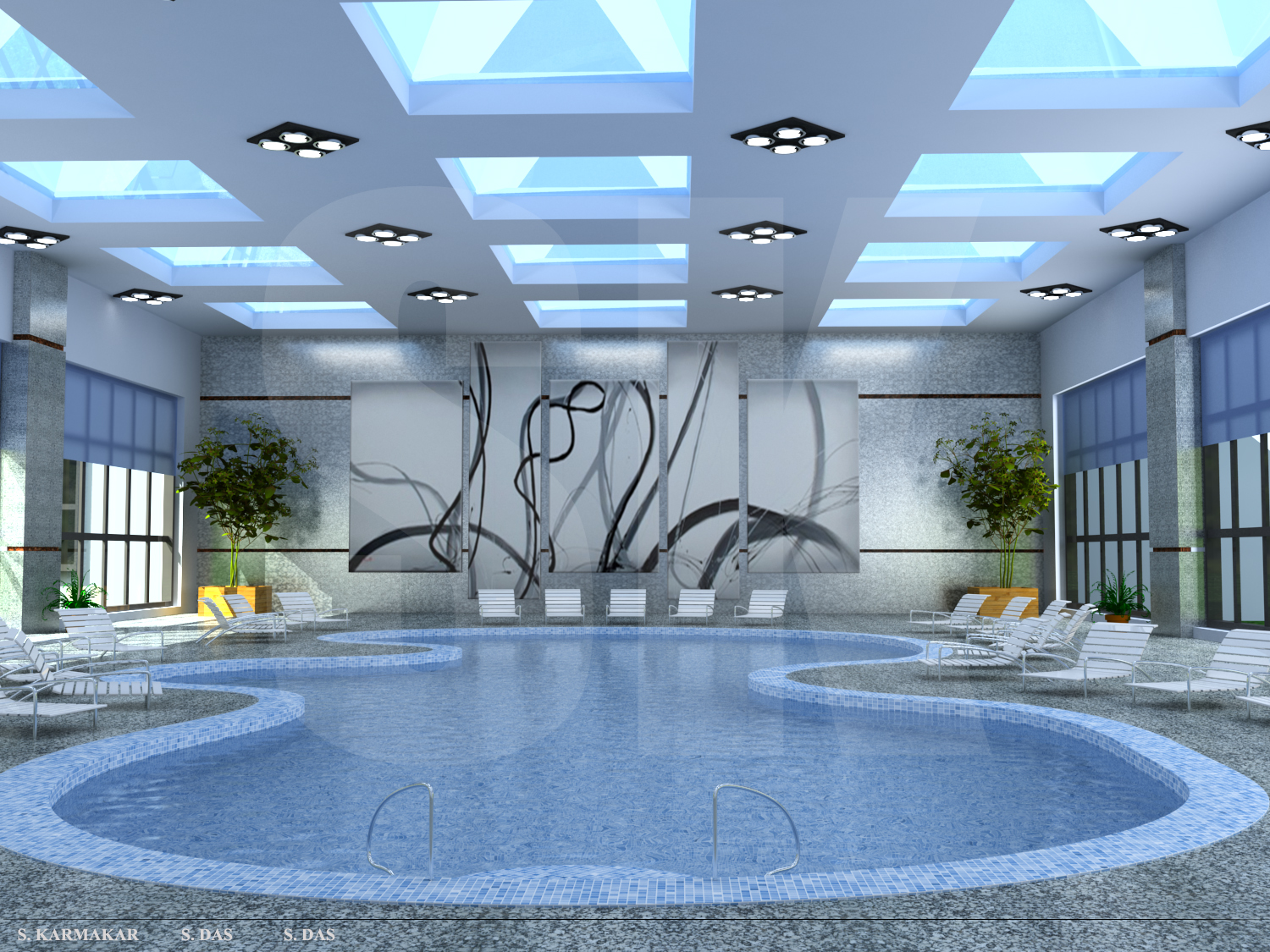 Amazing swimming pools luxaflex for Swimming pool design 2015