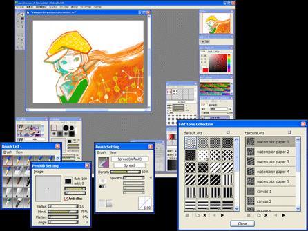 Feri Donlod Donlod Grafik Softwares Animpixel Open Canvas Paint Tool Sai Photoscape
