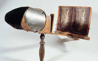 Estereoscopio de finales del siglo XIX