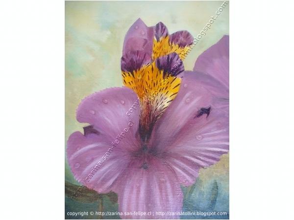 Venta de cuadros artisticos pintados por zarina tollini de for Comprar cuadros al oleo