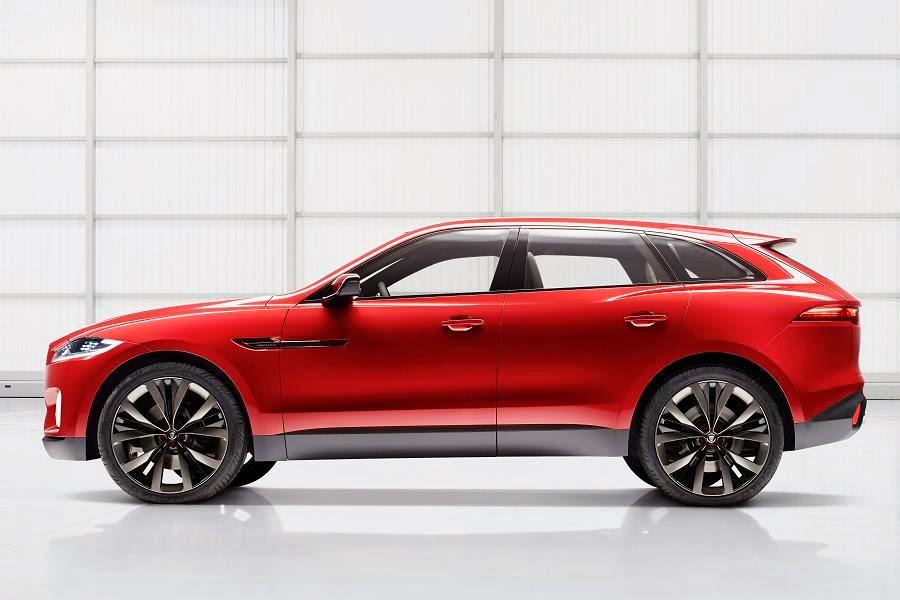 Jaguar C-X17 Sports Crossover Concept (2014) Side