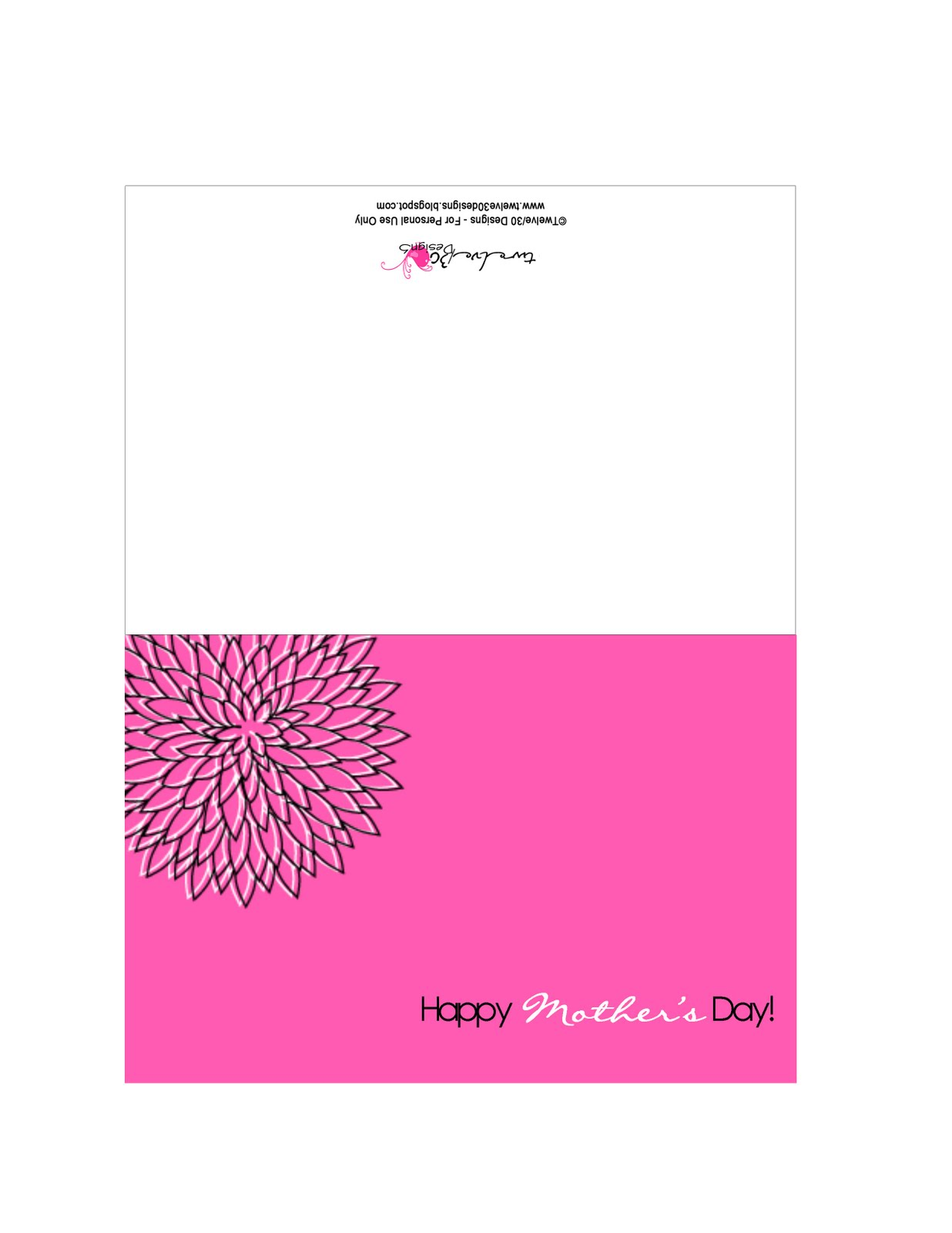 dishwasher printable mothers day cards