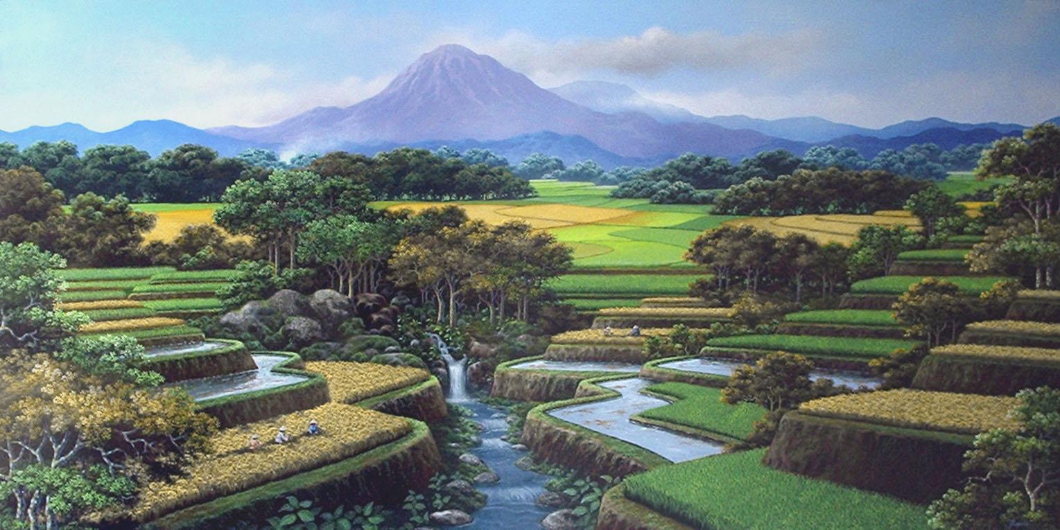 Gambar pemandangan alam terindah