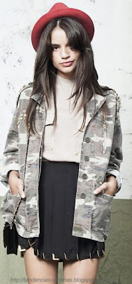 abrigo estilo militar DELAOSTIA 2013