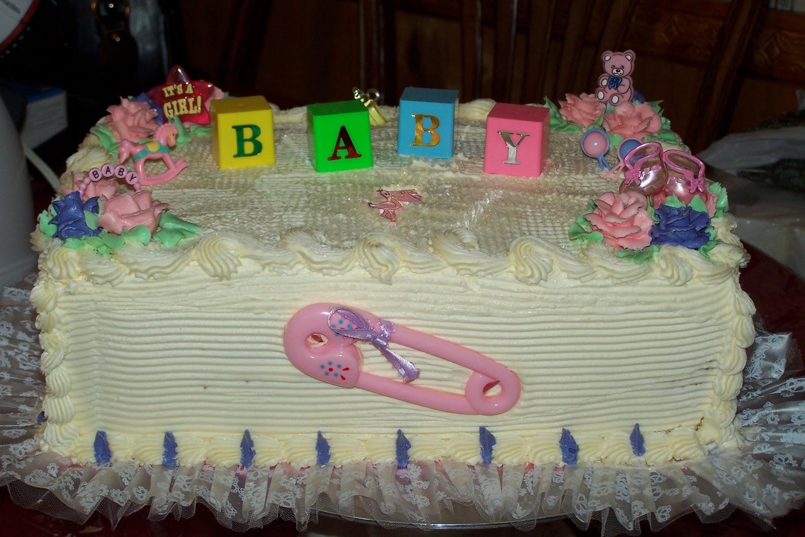 walmart baby shower cakes