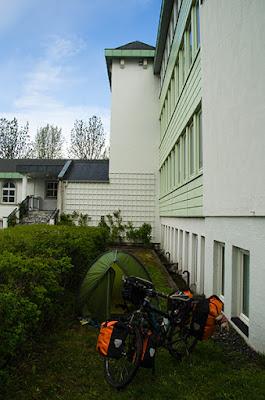 acampada en Fauske