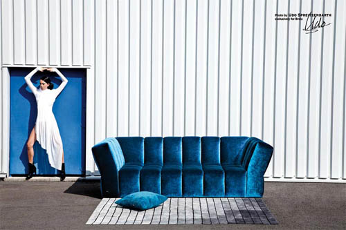 Furniture Chocolat Blue by Bretz