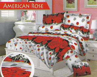 Sprei Love Story American Rose