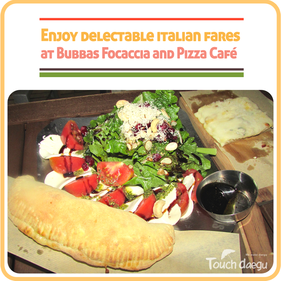 Italian fares at Bubbas Cafe