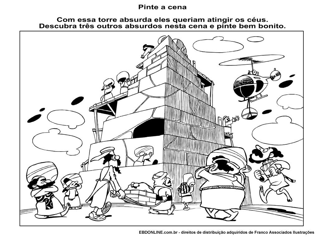 A TORRE DO ORGULHO (Torre de Babel)   ´¯`··._.·Blog da Tia Alê