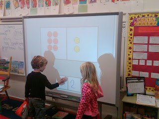 Students Using Smart Board